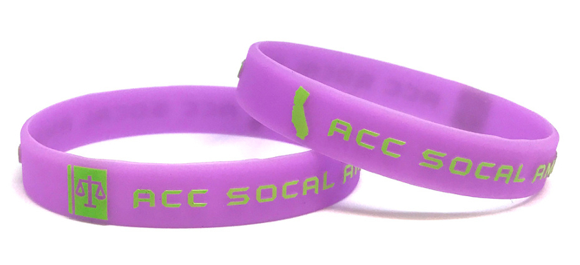 Design Embossed Printed Wristbands